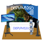 10 x 10 Exhibit Booth Kit with Stretch-Poly Fabric
