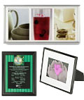 These metal photo frames are great gift ideas.