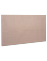 Copper antimicrobial adhesive sheet measures 50 inches wide by 30 inches long