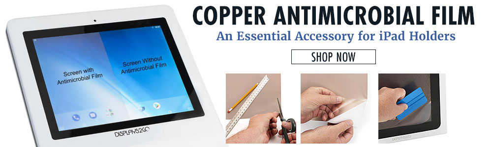 Copper antimicrobial film for iPads