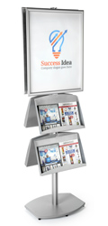 brochure sign stand