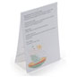 Menu Card Holders Flexible Plastic Design