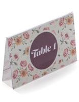 Economy Place Card Holders Table Tent