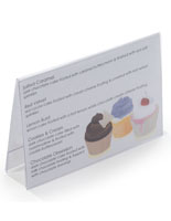 Menu Card Holder for Tabletops