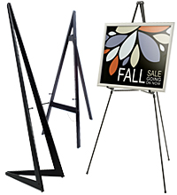 poster holders with easels