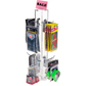 "4"" Hook Silver Counter Spinner Rack"