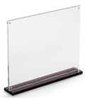 11 x 8.5 Thick Plastic Upright for Promotions