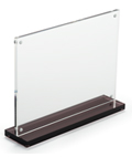 7x5 Clear Acrylic Upright for Signage
