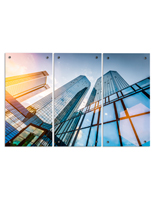"Skyscraper Acrylic Photo Panels, 45"" Overall Width"