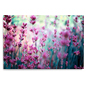 Lavender Acrylic Panel Print with High Quality Photo