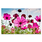 3 Panel Pink Flower Triptych Wall Art