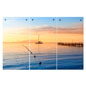 UV Printed Ocean Sunset Triptych