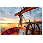 "36"" x 24"" Ship's Wheel Acrylic Photo Print"