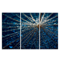 3-Piece Abstract Panel Wall Art