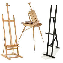 display stand easel