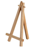 Miniature Wooden Easel