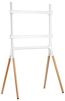 Modern Sawhorse-Style TV Display Stand