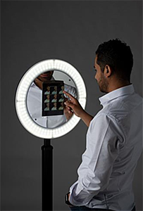 Tablet Ring Light Stations for Content Creators