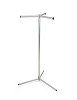 Trade Show Bag Stand with 3-Way Straight Arms