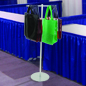 Trade Show Bag Holder  with 2-Way Straight Arms