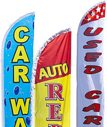Automotive Feather Flags