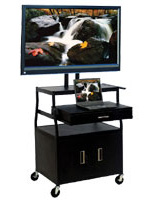multimedia presentation cart