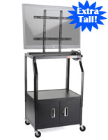 Audio Visual Cart with Cabinet