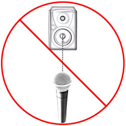 Avoiding Microphone Feedback