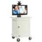 "Video Conferencing Cart for 42"" Single Display"