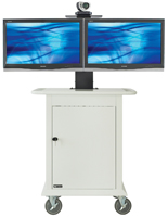 White Video Conferencing Trolley