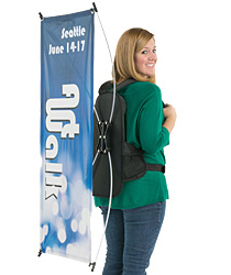 Backpack banner displays
