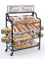 Wire Bread Rack