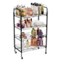 (4) Shelf Bakers Rack