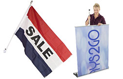 Banner and Flag Displays