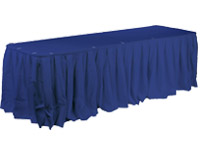 Banquet style table covers have a sophisticated appearance