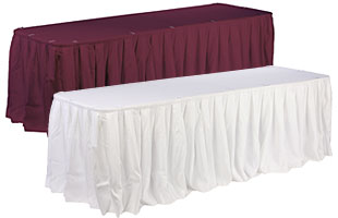 Banquet Linens Hospitality Table Skirts And Covers