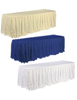 Banquet Table Skirts