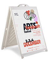 36 x 48 Plastic Sandwich Board with Top Insert