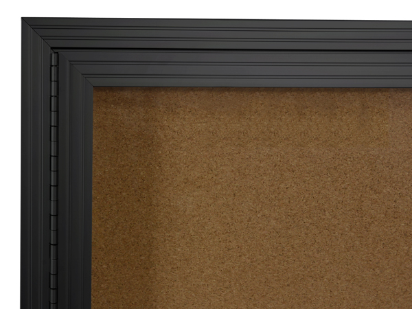 5 X 4 Bulletin Cork Board Black Frame