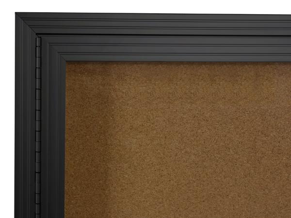 2 14 border black aluminum frame corkboard