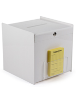 White Ballot Box for Suggestions
