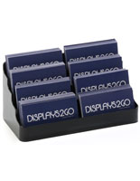 Plastic Eight Pocket Business Card Holder