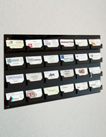 Wall Mount Business Card Holder