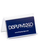 Desk Business Card Holder Acrylic