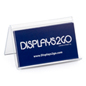 Tent Style Desk Business Card Holder