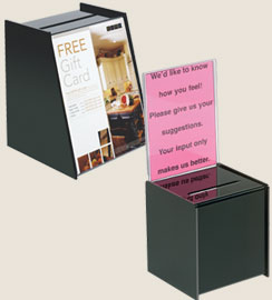 Business card holders single or multi card cases display racks card collection storage drop boxes colourmoves