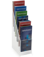 6-Tiered Leaflet Dispensers