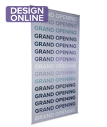 Indoor hanging banners with custom printing
