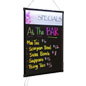 LED Blackboard with Header