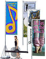 Banner Flags for Outdoor Events